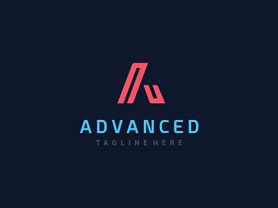 Advanced - Logo Design Template a letter logo logo mockup logo template logo design logotype letter a