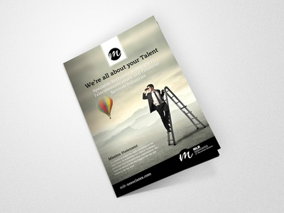 Brochure Design for MLR Associates mlr associates art immense immense art template flyer designer design brochure