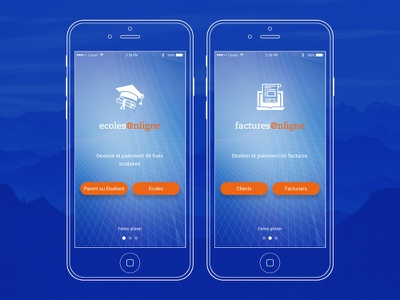 Digital Africa - Digi App Screens interface graphic designer ui design app africa digital