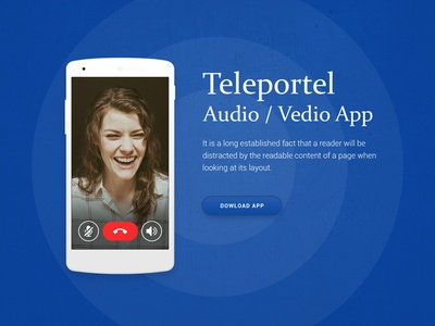 Audio Video App Design graphic design ui designer app designer web designer ux design ui design calling app video app app design