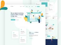 Marketing Agency_Landing Page  Exploration