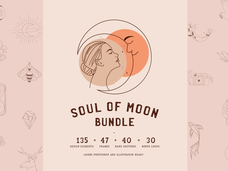 Soul of Moon Bundle//Magical Items to Make Magic!