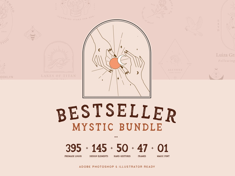Bestseller Mystic Bundle//All Magical