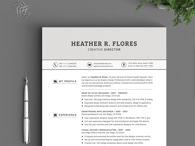 21 pieces timeless resume cv pack by daniel e graves