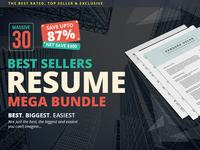 Top Sellers Resume Mega Bundle