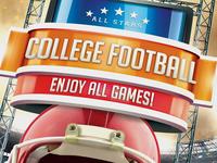 College Football Flyer - No Model