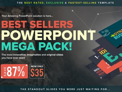 Best Sellers PowerPoint Mega Pack
