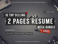 10 Top Selling Resume Mega Bundle + Bonus