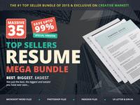 #1 Top Sellers Resume Mega Bundle