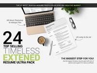 24 Timeless Resume Ultra Extened Pack