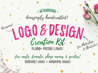 Awesome Logo & Design Creation Kit