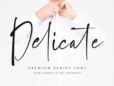 Delicate Script