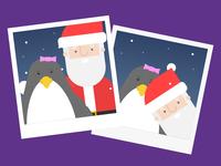 Penguin Polaroids