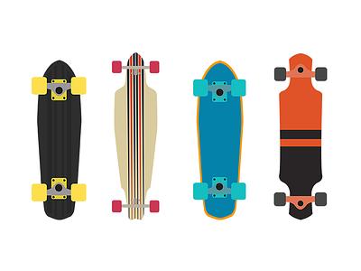Longboards  lithuania vilnius globe color flat longboard longboards