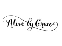 Alive By Grace Tattoo Lettering