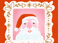 Santa's Portrait