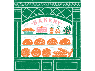 Bakery Window Display