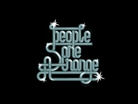People are strange | Lettering