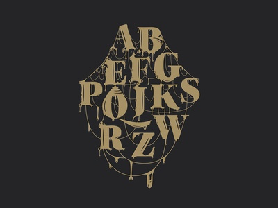 Abc| Lettering vector illustration graphic type lettering typography