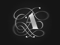 A | Lettering