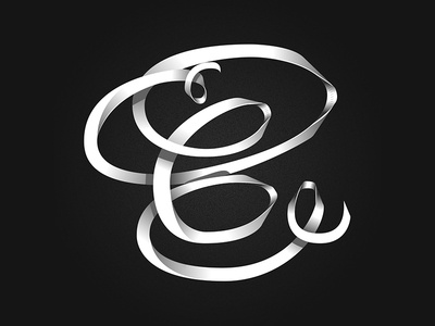 C | Lettering vector illustration graphic type lettering typography