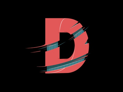 D | Lettering vector illustration graphic type lettering typography