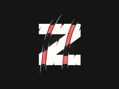 Z | Lettering vector illustration graphic type lettering typography