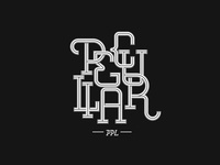 Brand Peculiar PPL | Lettering