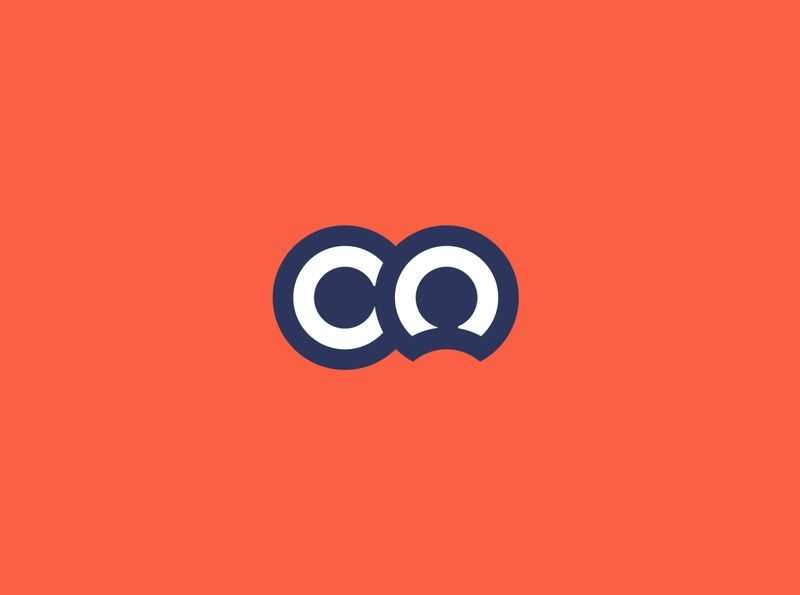 CO clean simple minimal symbol logo