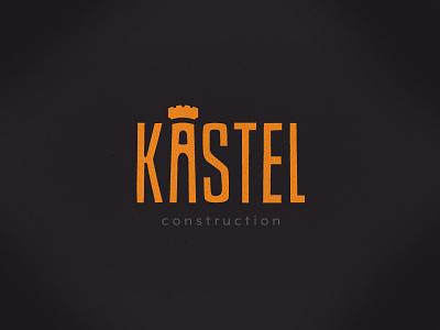 Kastel logo logo castle kastel construction building architecture