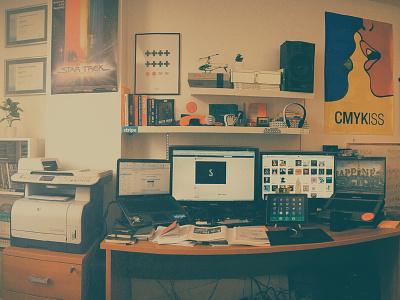 Workspace homeoffice workstation freelancer