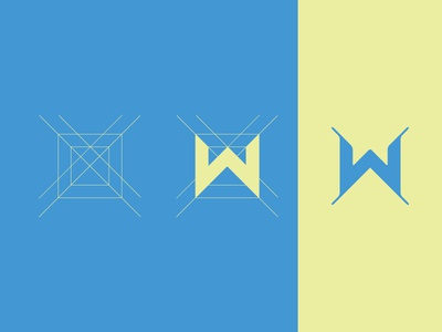 W by Dani Janev via dribbble