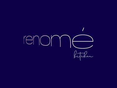 Renomé restaurant & kitchen logo