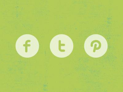 Freebie | Three Social Icons