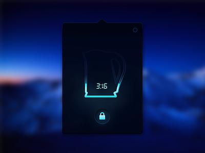 Teapot control UI concept ui ux teapot concept remote minimal