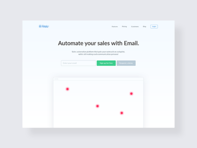 Email Campaigns Landing (WIP)