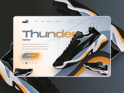 Puma Thunder Fashion puma shoes design shoes store