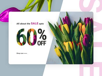 Banner flowers sale