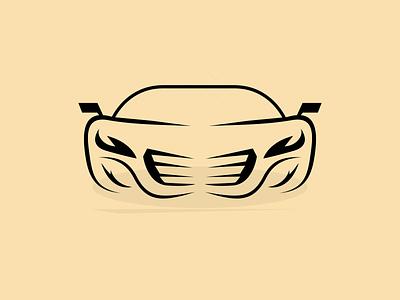 Voiture illustrée vector illustration