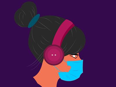 music mood design illustration
