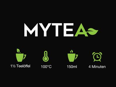 MyTea Logo branding logo mytea
