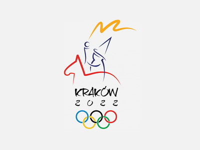Olympic Games Logo krakow city olympic games logo winter olympic games krakow 2022 logo lajkonik krakow olympic