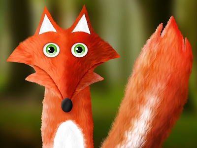 The Fox from The Little Prince book illustration antoine de saint-exupéry illustration fox illustration the little prince little prince fox