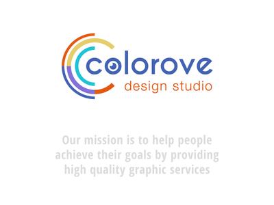 Colorove.com Logo colorove logo design studio logo design studio kolorowe colorove