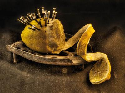 The Lemon claesh futuristic lemon dutch photography hdr still life