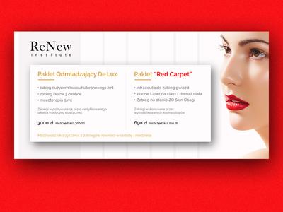 Red Carpet Banner spa classy salon beauty woman minimal elegant luxury red carpet banner