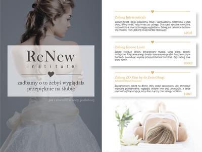 When beauty salon meets wedding... print a5 beautiful beauty flyer weddings wedding beauty salon