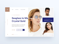 Eyewear Store Home Page