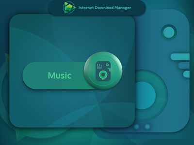 Internet Download Manager : Music file icon