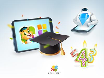 Web Icons Intellecto kids#1